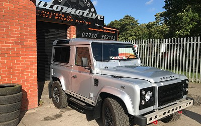 Landrover 90 Tracking Protecting the investment