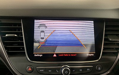 Rear View Camera Fitted Factory Style To OEM Screen